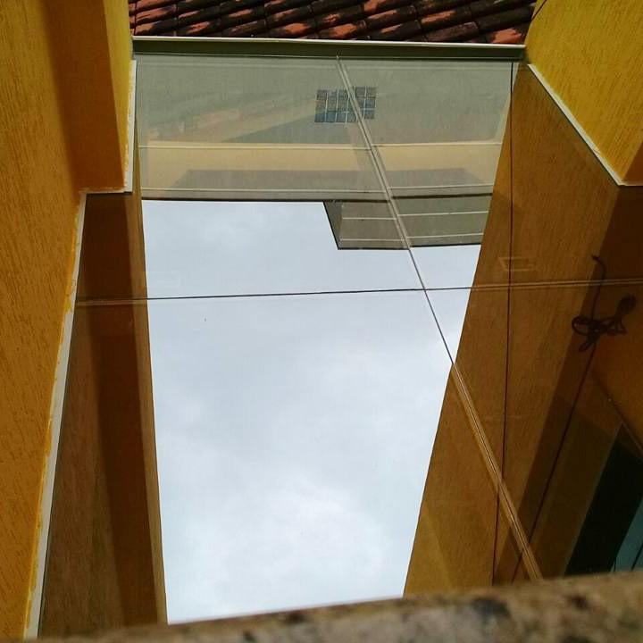 Cobertura de Vidro Habitat Laminado Refletivo Champanhe